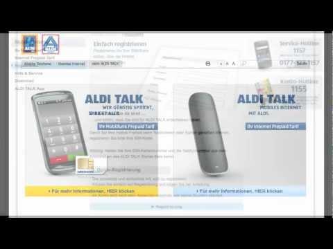 Aldi Talk Sim Kartennummer.Aldi Talk Sim Karte Regristrieren So Gehts Youtube