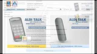 Aldi Talk - Sim Karte Regristrieren - So gehts