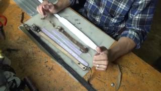 Ремонт и перешивка ремней для музыкального инструмента баяна(, 2016-08-05T16:57:11.000Z)