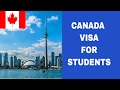 Required documents to apply for Canadian VISA or Canadian Student Permit , Study in Canada