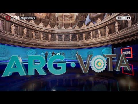 Download ARGENTINA VOTA | Así fue el CIERRE de COMICIOS en la TRANSMISIÓN ESPECIAL