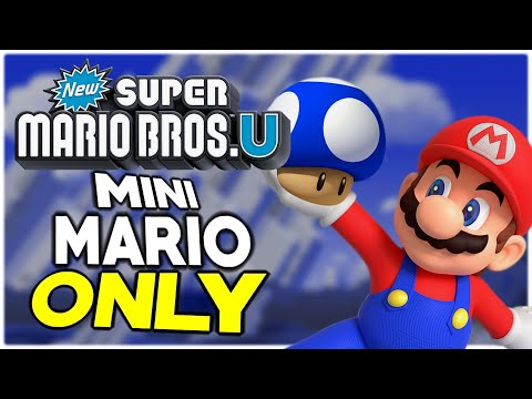Is It Possible To Beat New Super Mario Bros. U As Mini-Mario?