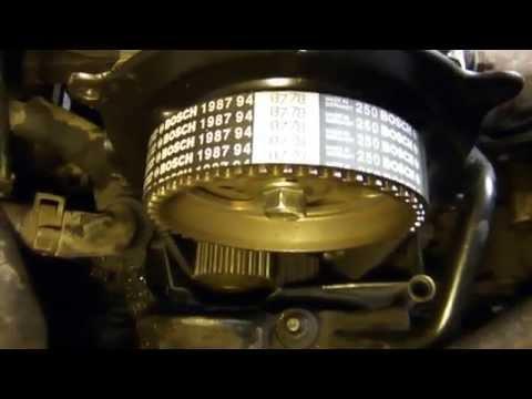 Замена ремня ГРМ и навесного ремня Ford Fusion своими