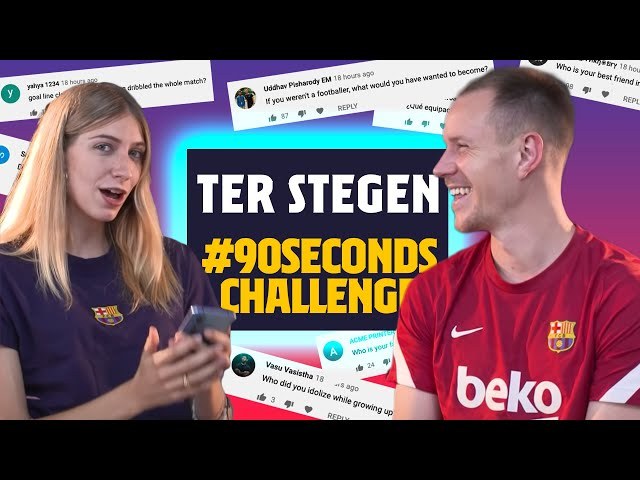 WOULD YOU RECORD A SONG WITH MEMPHIS? | Ter Stegen #90secondschallenge