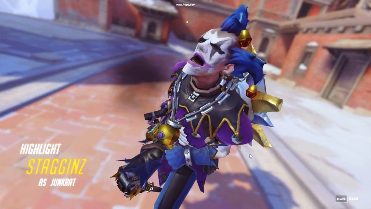 Overwatch Junkrat Ill Just Leave This Here