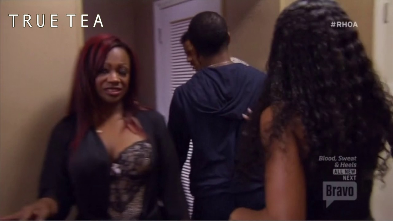 Real housewives of atlanta pillow talk fight