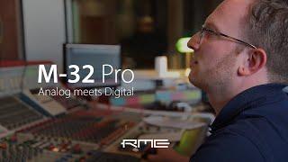 アナログとデジタルの世界をシームレスに融合 - RME M-32 Proシリーズ@YEAH! YEAH! YEAH! Studios Hamburg