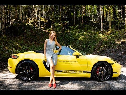 Porsche 718 Boxster S - this naughty canard can growl!