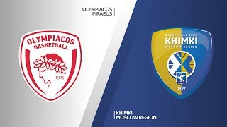 Olympiacos Piraeus - Khimki Moscow Region Highlights | Turkish Airlines EuroLeague, RS Round 14