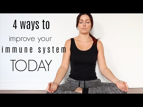 FOUR EASY WAYS TO IMPROVE YOUR IMMUNE SYSTEM TODAY | lifestyle hacks |