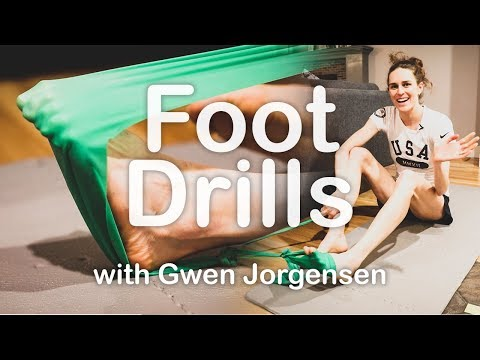 Keeping your feet Strong and Healthy    with Gwen Jorgensen