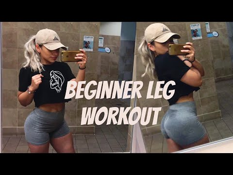 Beginners you can't miss these leg exercises!