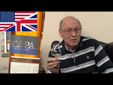 Whisky Review/Tasting: Scapa Glansa