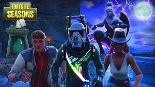 DARKNESS RISES IN FORTNITE - GOOD VS EVIL!! *NEW Skins* Fortnite Season 6 Short Film