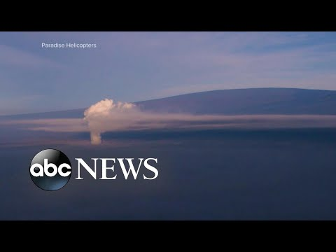 Hawaii volcano eruption sends ash in air