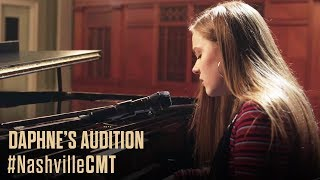 NASHVILLE on CMT | Daphne Auditions Behind Deacon's Back