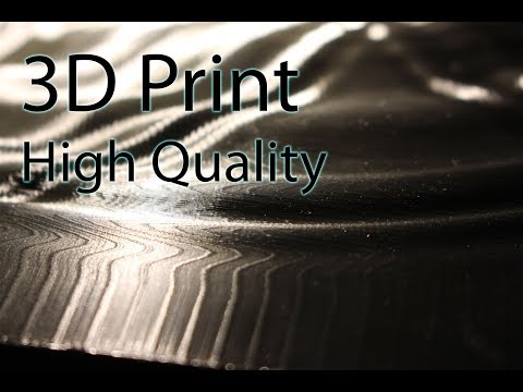 The Process of 3D Printing High Quality Prints