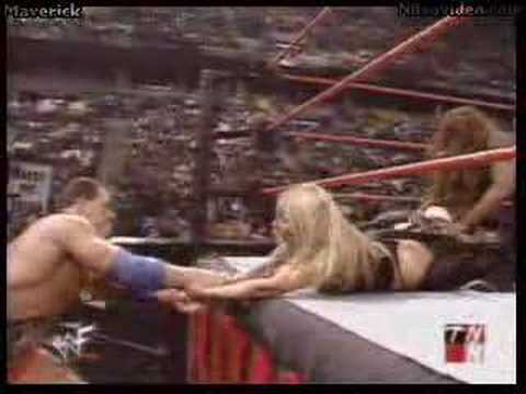 Trish gets spanked