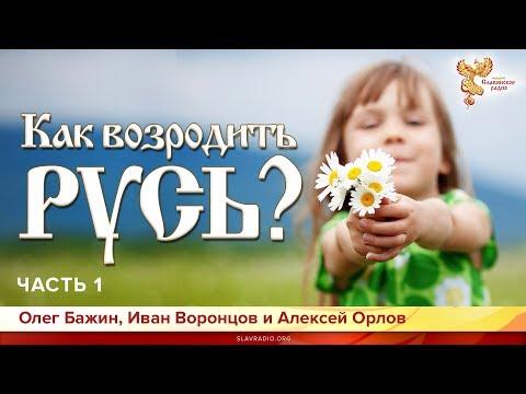 Как возродить Русь? Иван Воронцов и Олег Бажин. Часть 1