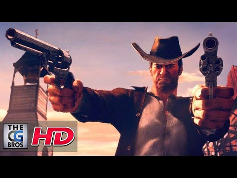 "CGI 3D Animated Trailers: ""Desperados III Announcement Trailer"" - by Puppetworks Animation Studio"