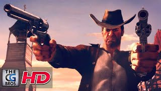 """CGI 3D Animated Trailers: """"Desperados III Announcement Trailer"""" - by Puppetworks Animation Studio"""
