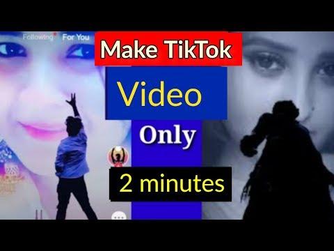 Make TikTok Sky Girl Background Video || How To Edit TikTok Video || TikTok Tutorial in nepali
