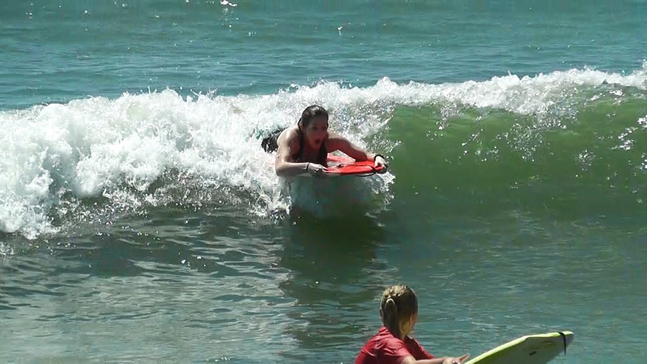 Seal Beach 4 Day Highlights Of Kids And Tara S First Boogie Board You
