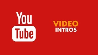 How to make simple youtube intro video