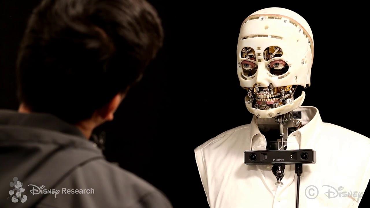 Disney's new robot tech