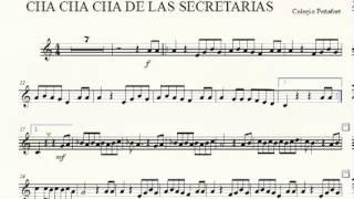 CHA CHA CHA DE LAS SECRETARIAS TROMPETA COLEGIO PEÑAFORT