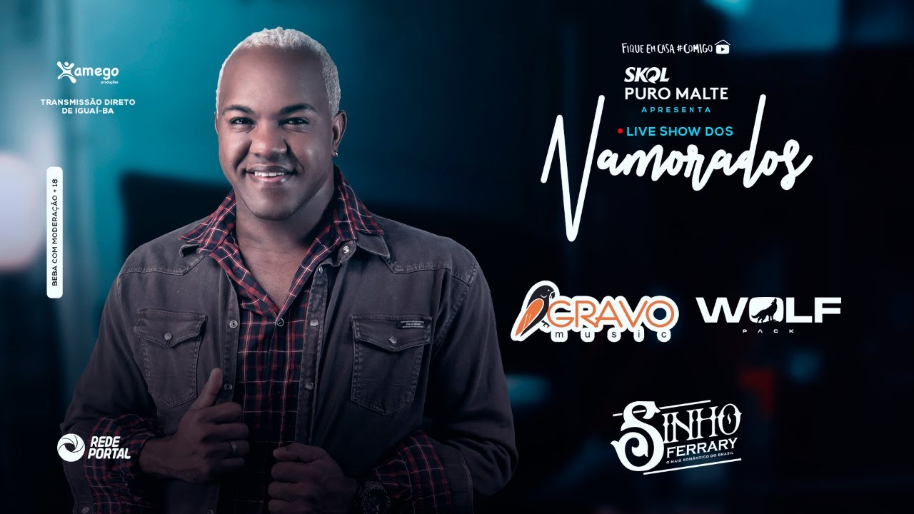 Live dos Namorados - Sinho Ferrary