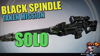 Destiny: Black Spindle Taken Mission Solo
