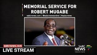 ANC KwaZulu-Natal holds memorial service for Robert Mugabe