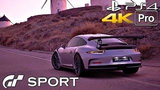 Gran Turismo Sport - Porsche 911 Gameplay Trailer [4K 60FPS] PS4 PRO