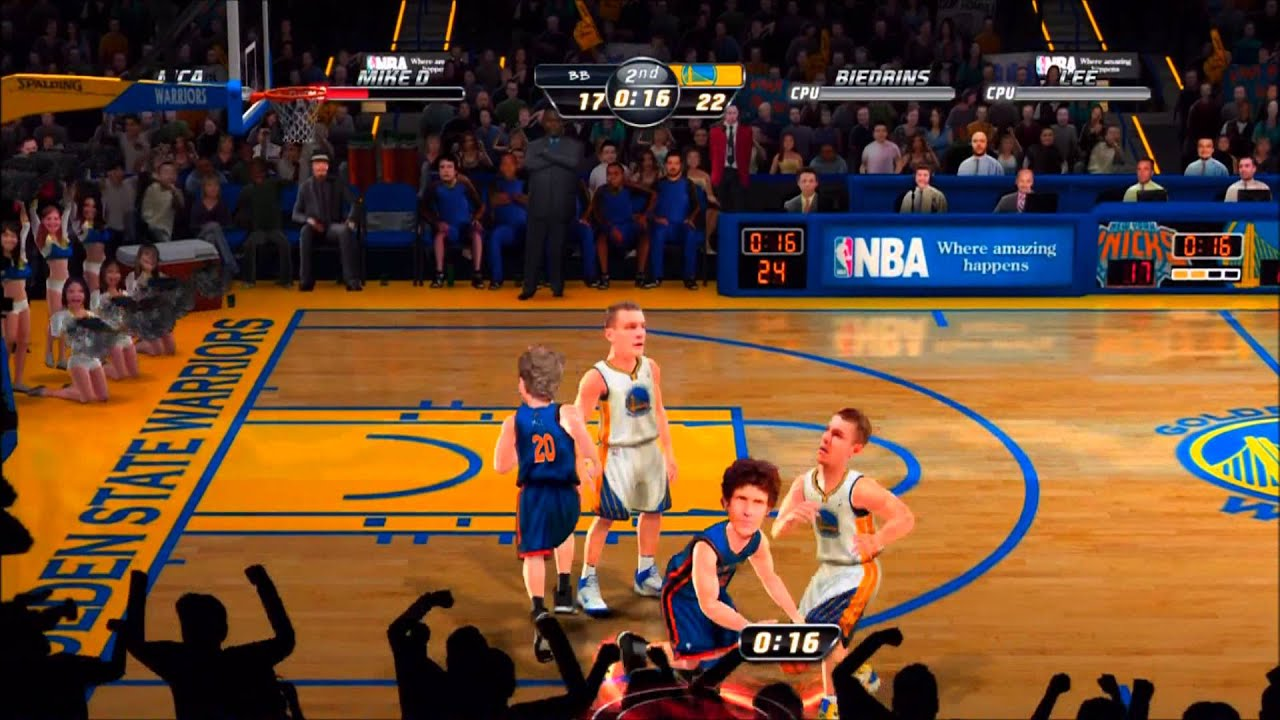 NBA Jam XBOX 360 Review and Gameplay - YouTube