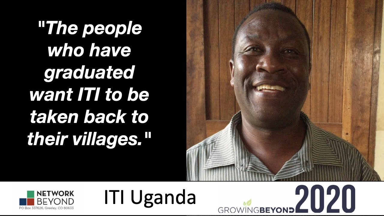 "ITI Impact 2020 ""the people who have graduated want ITI to be taken back to their villages.""w/Wilson"