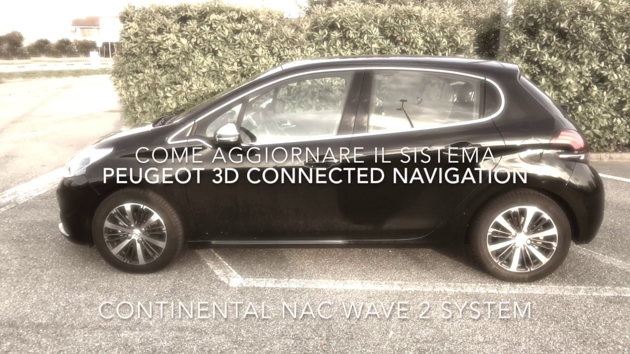 How to update Peugeot's 3D Connection Navigation