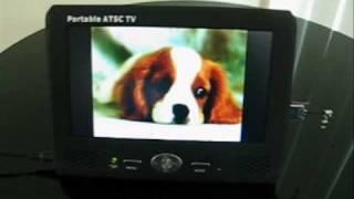 iVIEW-780PTV 7 Inch Portable Digital ATSC TV