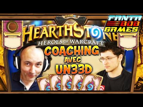 COACHING HEARTHSTONE AVEC UN33D ET FANTA - Gameplay Fr Fantabobgames