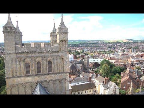 Exeter, capital de Devon y ciudad europea de las flores