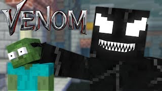 Monster School : VENOM VISIT MONSTER SCHOOL - Minecraft Animation