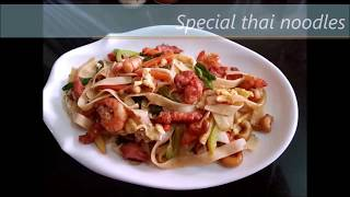 Special Thai Fried Noodles (Pad Thai) Recipe At Home
