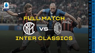 INTER CLASSICS with ADRIANO | FULL MATCH | INTER vs AC MILAN | 2008/09 SERIE A TIM #DERBYMILANO ⚫🔵