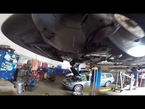 VW  PASSAT  B6 замена передних рычагов