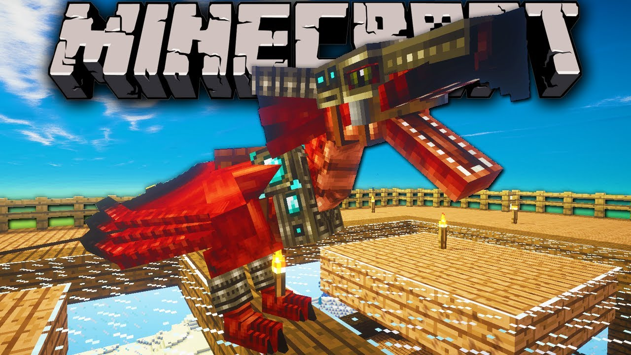 Minecraft: Zoo Keeper - Wyvern Baby Egg Hatch! - Ep  11 Dragon Mounts, Mo'  Creatures, Shaders Mod