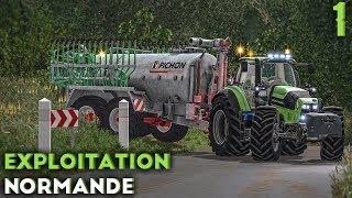 Farming Simulator 17 - Exploitation Normande - Une nouvelle map ! (#1)