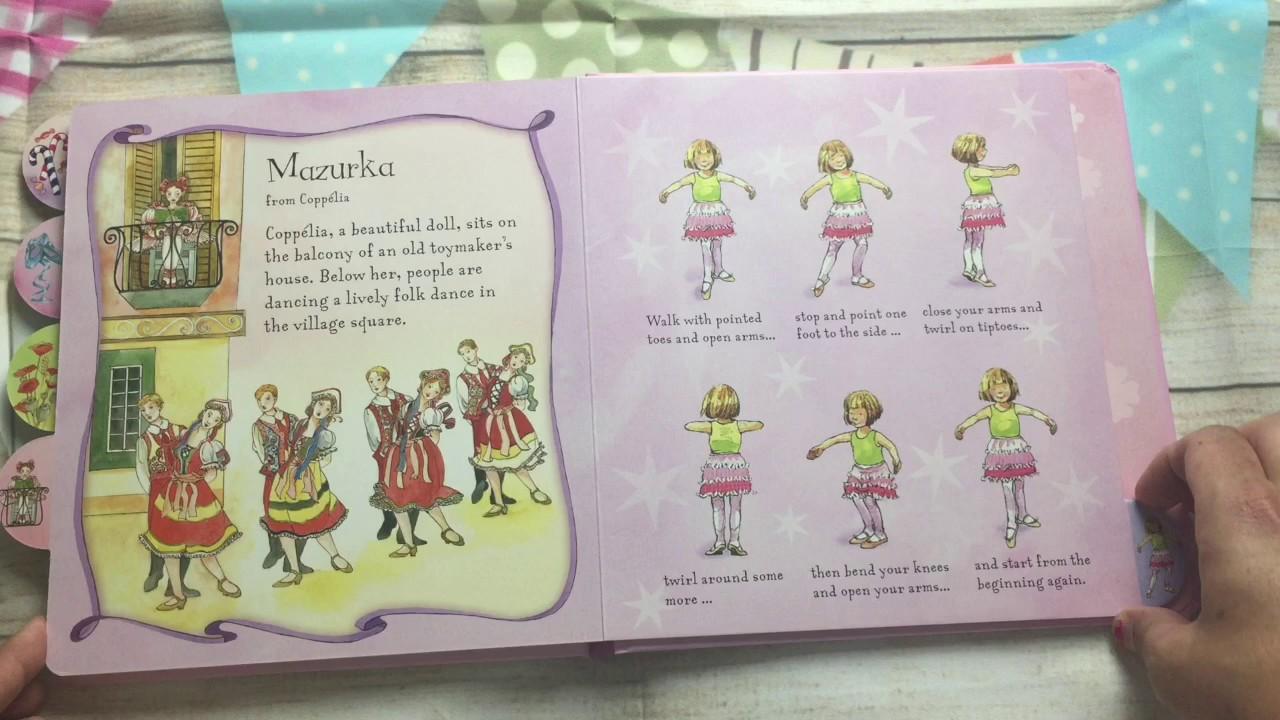 A Look Inside The Usborne Little Ballerina Dancing Book