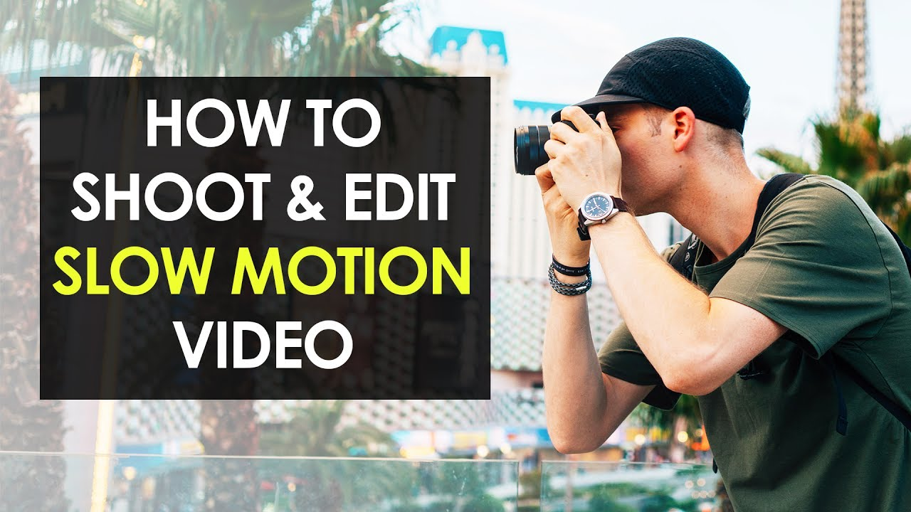 How To Make Slow Motion Video Slow Motion Video Editing Tutorial