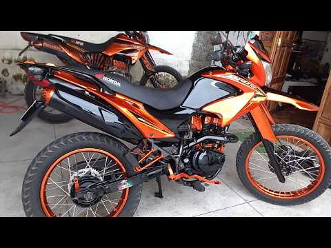 honda bros 2018. contemporary 2018 thumbnail moto bros 150cc laranja reforma geral pintura personalizada   ninho mofo and honda bros 2018