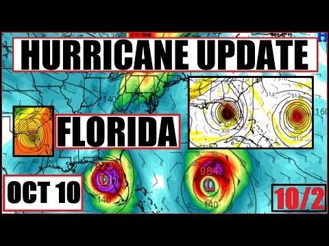 *BIG Hurricane* Update! FLORIDA and GULF On Watch/Cyclone Movement in Caribbean